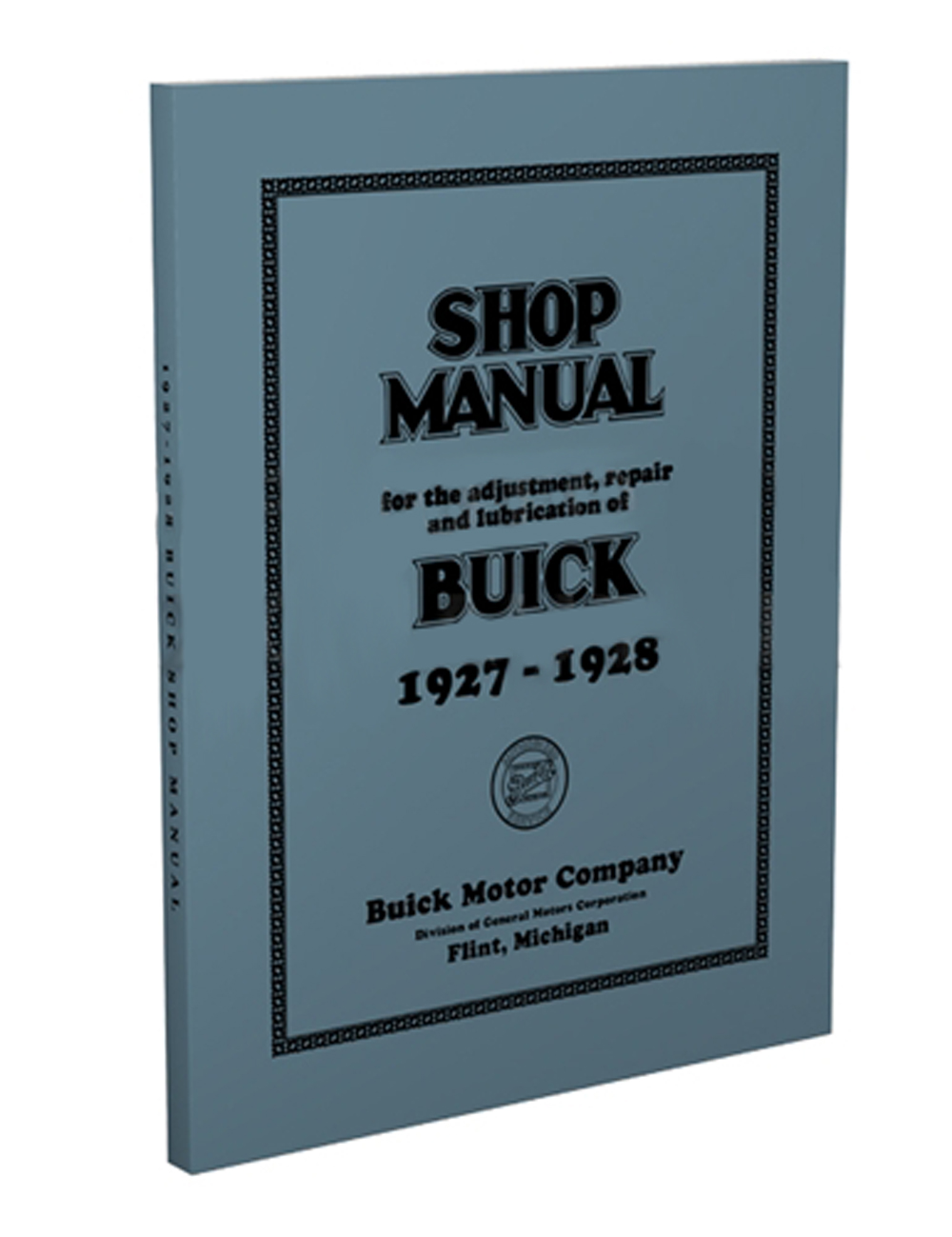1928 Buick Repair Manual Supplement Reprint