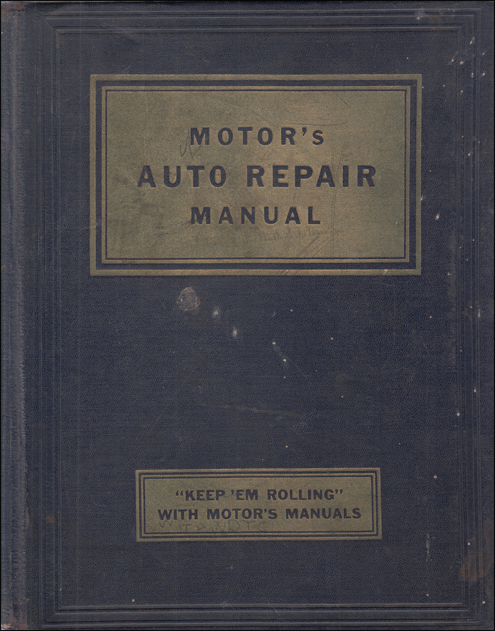 1935-1953 Motors Shop Manual