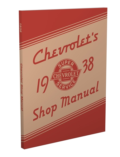 1938 Chevrolet Shop Manual Reprint for 38 Chevy Car, Pickup, & Truck