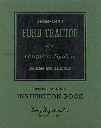 ford    manual set ownersshopassembly