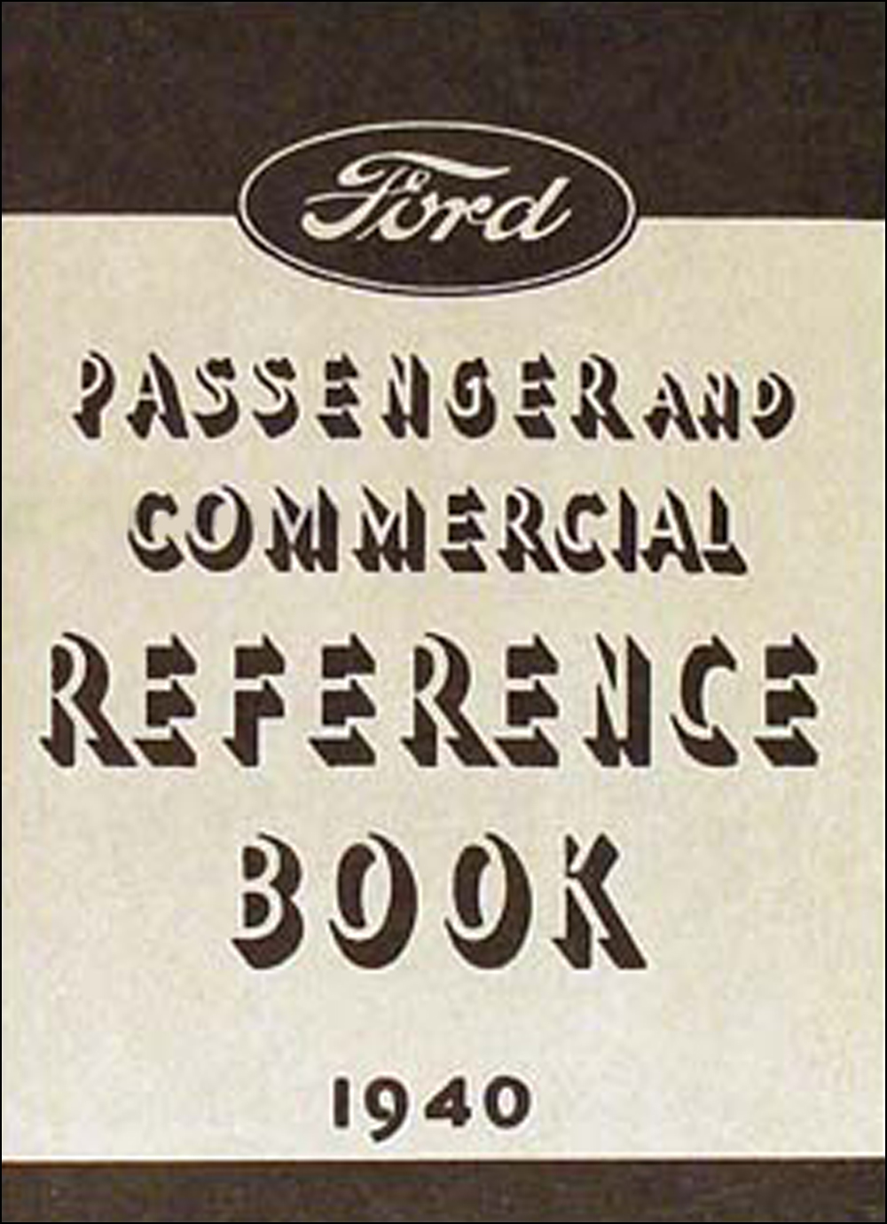 1940 Ford Car & Pickup Owner's Manual Reprint. click on thumbnail to zoom