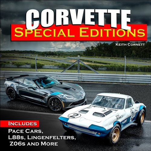 Corvette Special Editions Hardcover Book