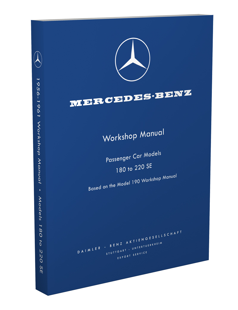 1955-61 Mercedes 190 Workshop Manual