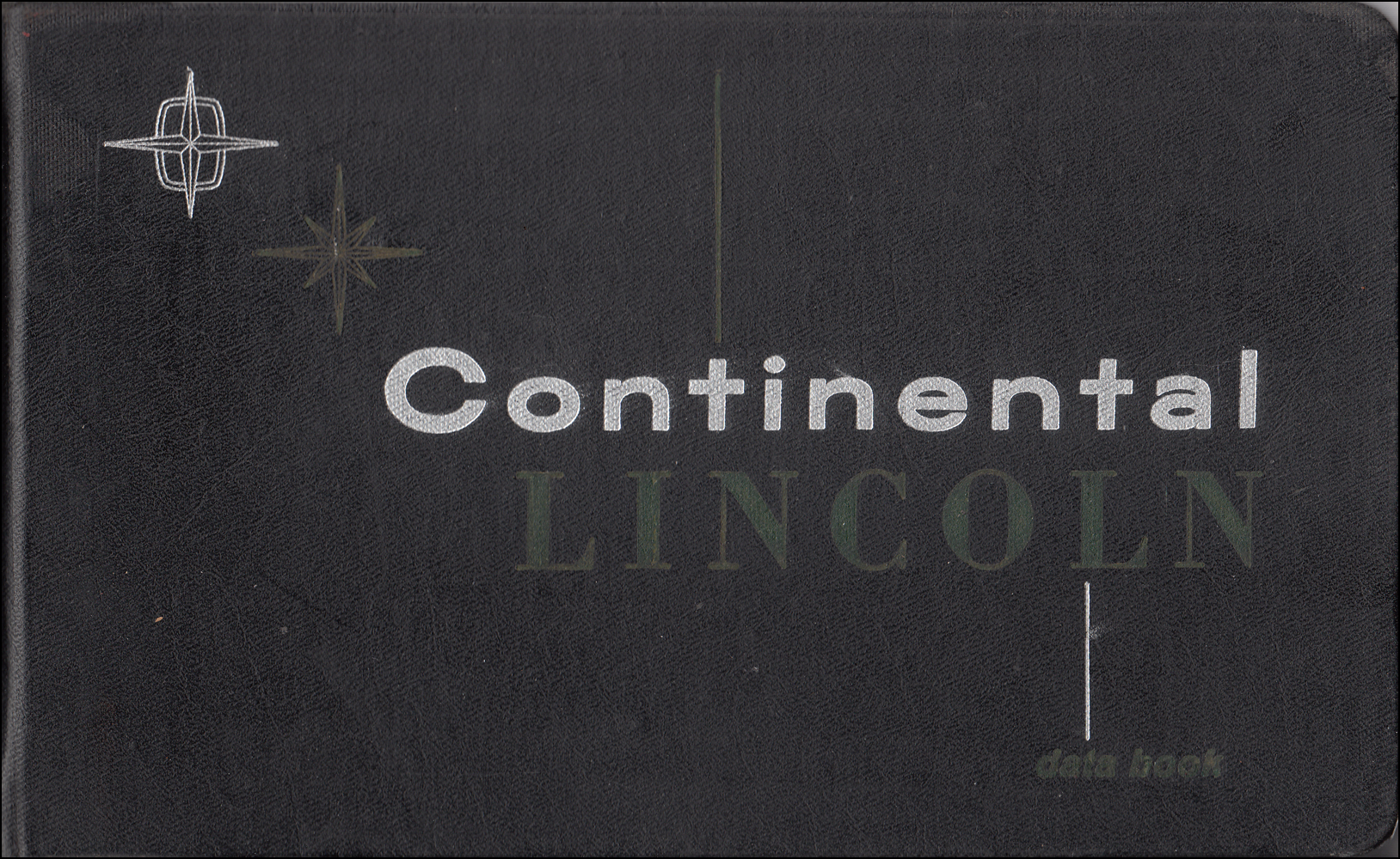 1959 Lincoln Data Book Original