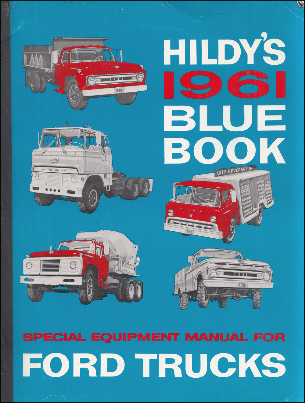 1961 Hildy's Blue Book Ford Truck Special Equipment Dealer Album