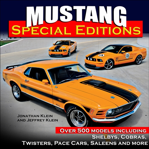 1964-2018 Mustang Special Editions Hardcover Book