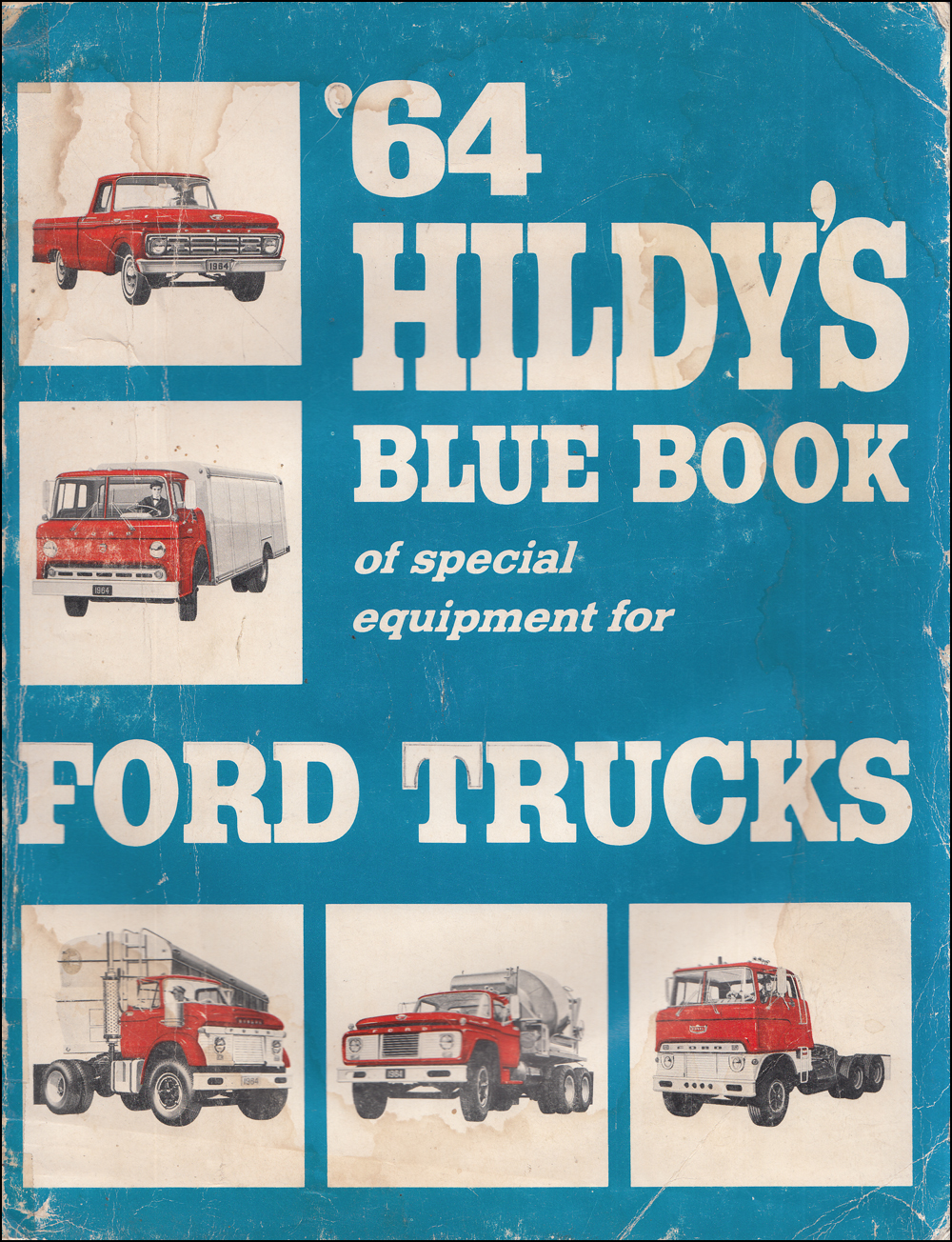 1964 Hildy's Blue Book Ford Truck Special Equipment Dealer Album
