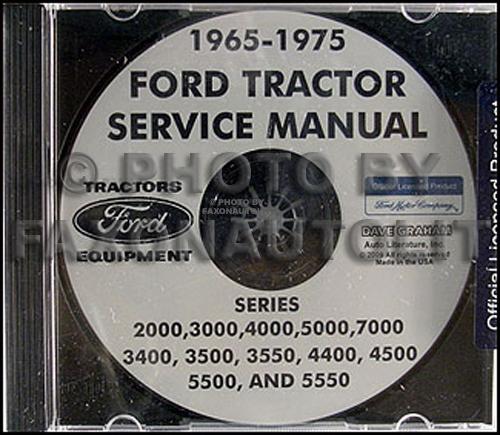 1965 1975 ford tractor repair shop manual 2000, 3000, 4000, 5000, 7000 cd rom Ford 4000 Tractor Carburetor Diagram