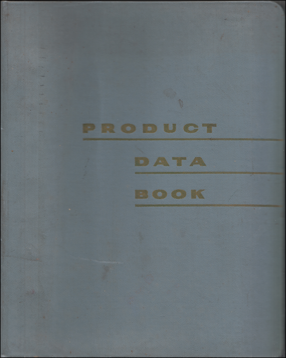 1966 Mercury Data Book Original