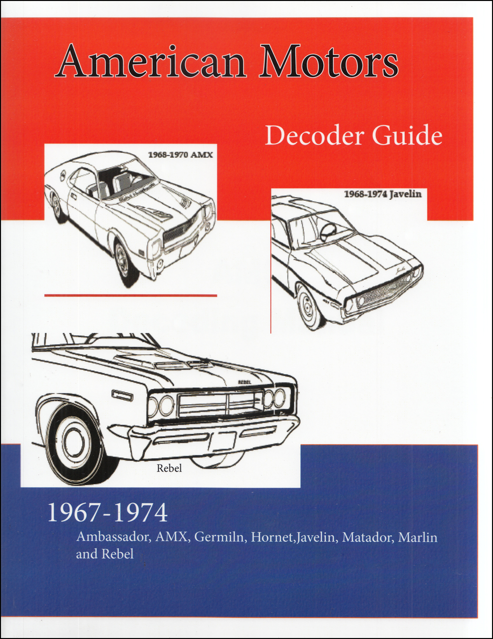 1974 Amc Service Specifications Manual