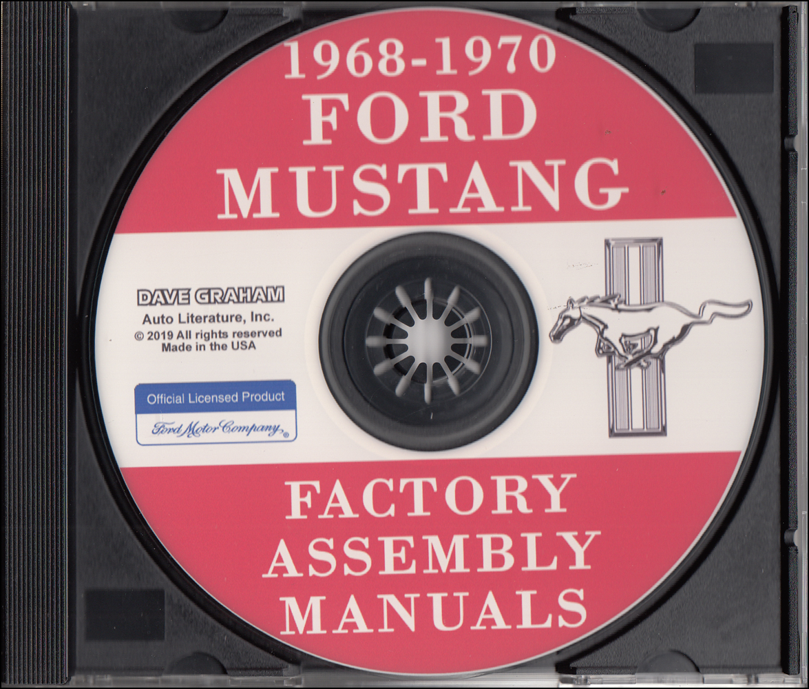 1970 Ford Mustang Sheet Metal Weld  U0026 Sealant Reprint