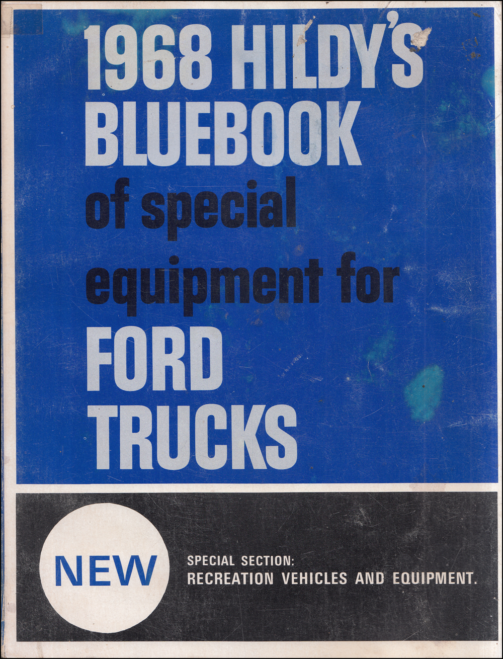 1968 Hildy's Blue Book Ford Truck Special Equipment Dealer Album
