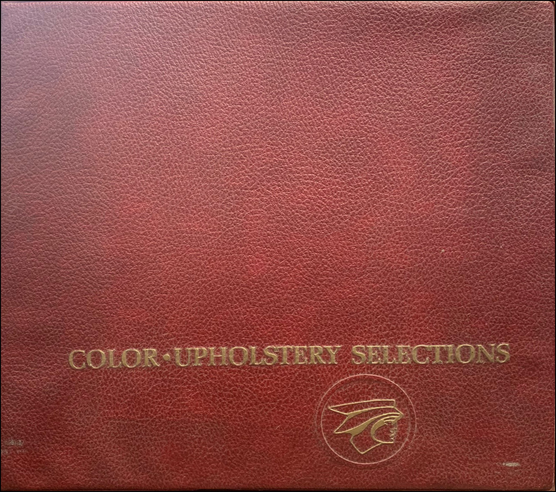 1968 Mercury Color and Upholstery Dealer Album