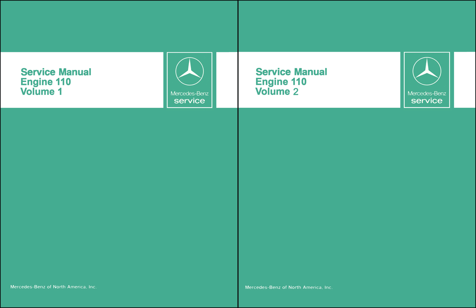 1973-81 Mercedes 110 Reprint Repair Manual