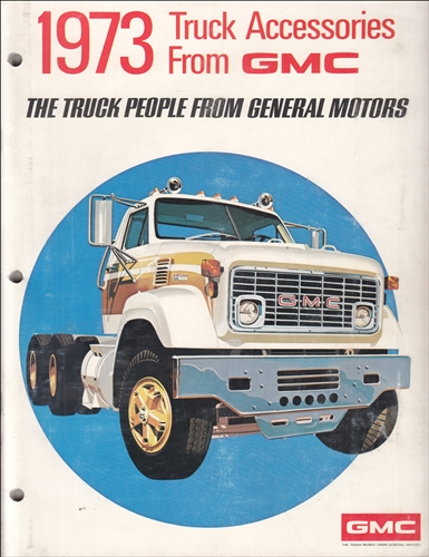 1973 GMC Accessories Dealer Album Original
