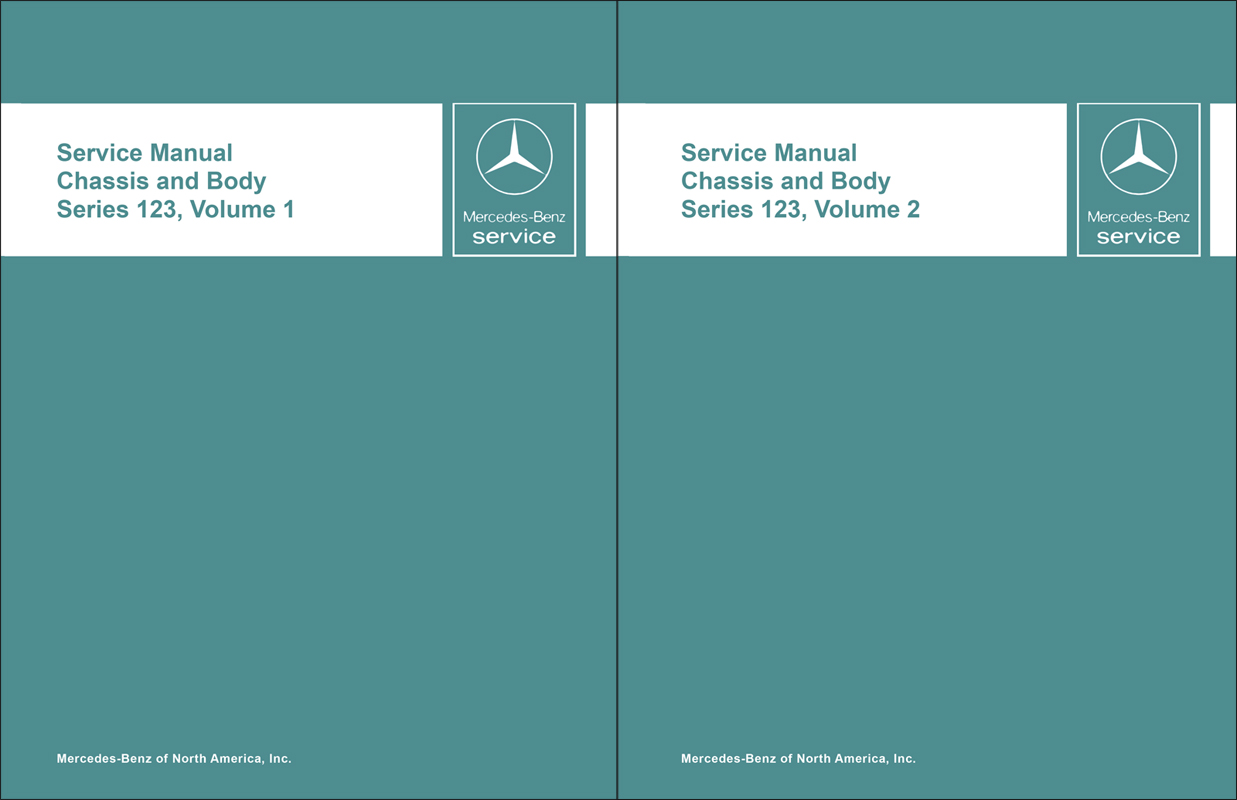 1977-85 Mercedes 123 A/C Heater Reprint Repair Manual