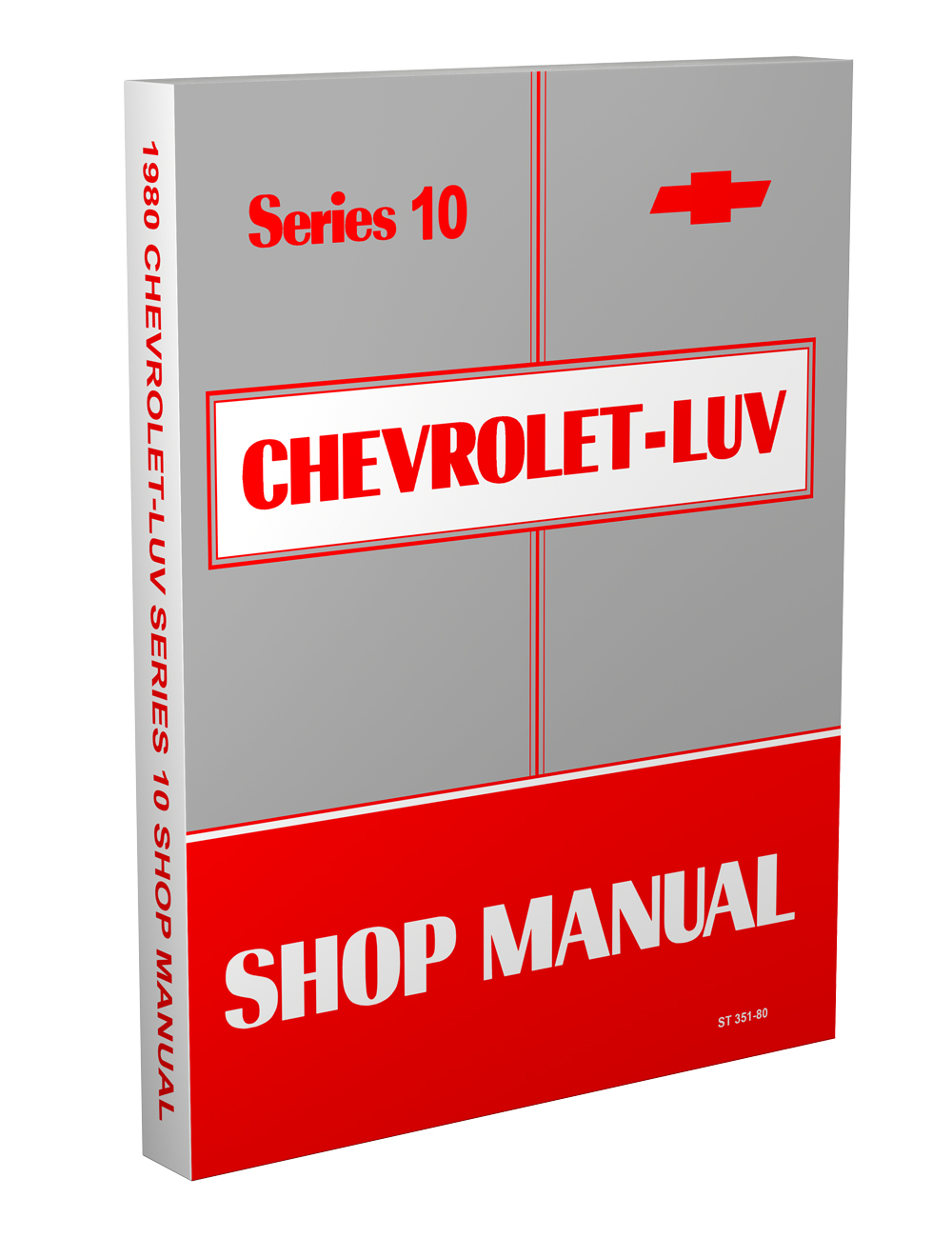 1980 Chevy Luv Series 10 Repair Manual Original