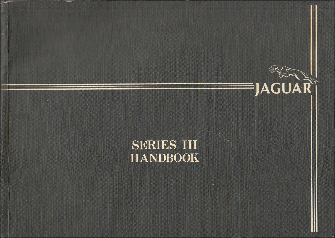 1984-1985 Jaguar XJ6 Owner's Manual Original