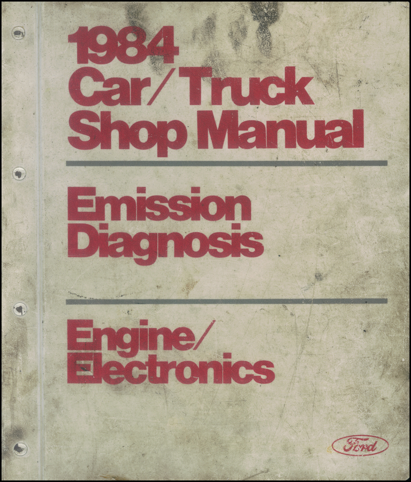 1984 Car and Truck Engine and Emissions Diagnosis Manual Original