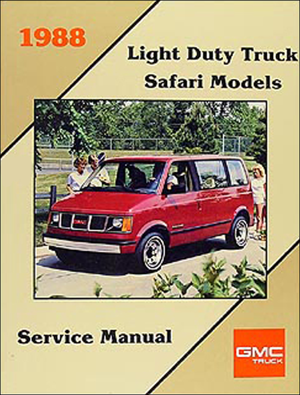 1988 Gmc 1  2  3  4   U0026 1 Ton Truck Overhaul Manual Original