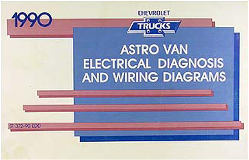 1990 Chevy Astro Van Wiring Diagram Manual Originalrhfaxonautoliterature: 1988 Chevy Astro Van Wiring Diagram At Cicentre.net