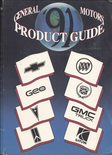1991 General Motors Product Guide Original