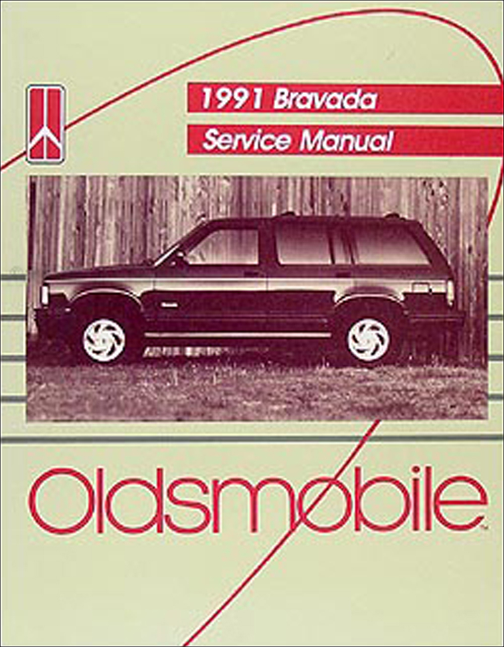 1991 Oldsmobile Bravada Repair Manual Original