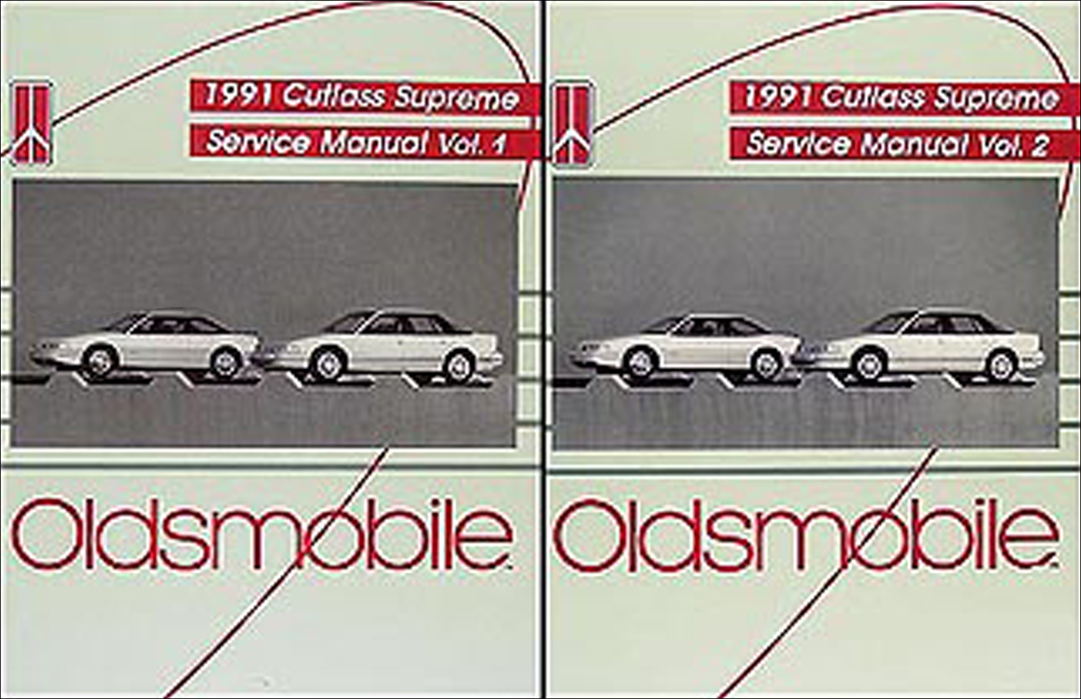 1991 Oldsmobile Cutlass Supreme Repair Manual Original