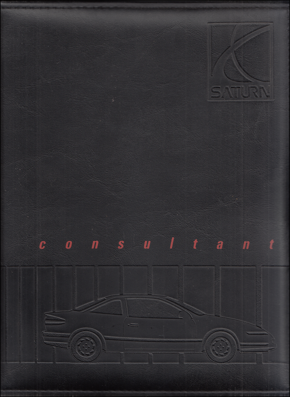 1991 Saturn Color & Upholstery Dealer Album/Data Book Original