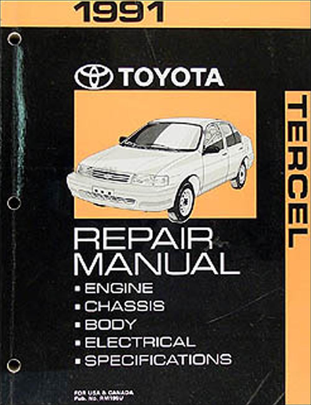1991 Toyota Tercel Corolla 3 Speed Auto Transmission