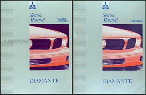 1993 Mitsubishi Diamante Wagon Repair Shop Manual Original
