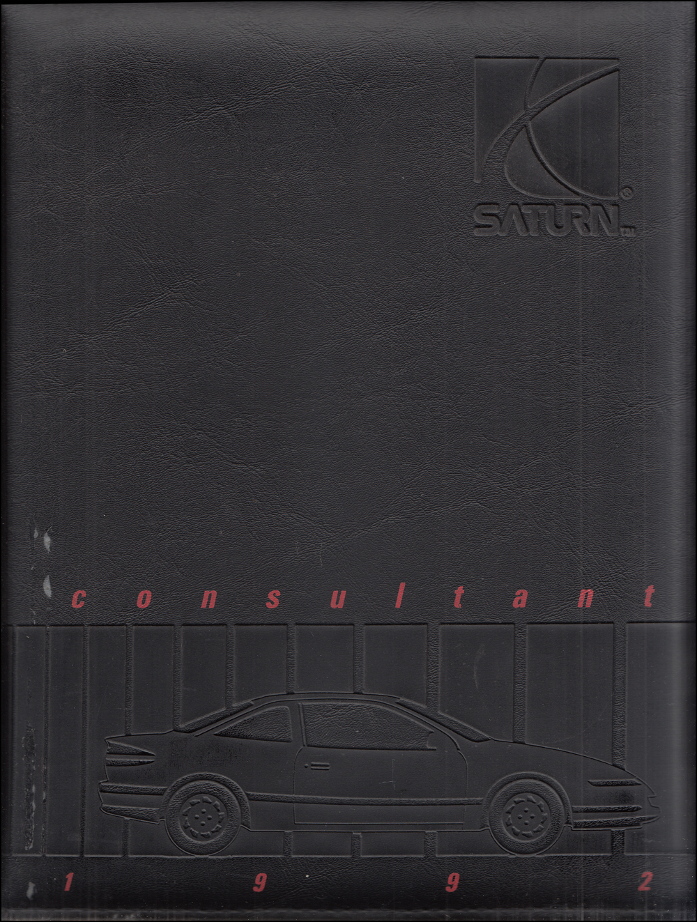 1992 Saturn Color & Upholstery Dealer Album/Data Book Original
