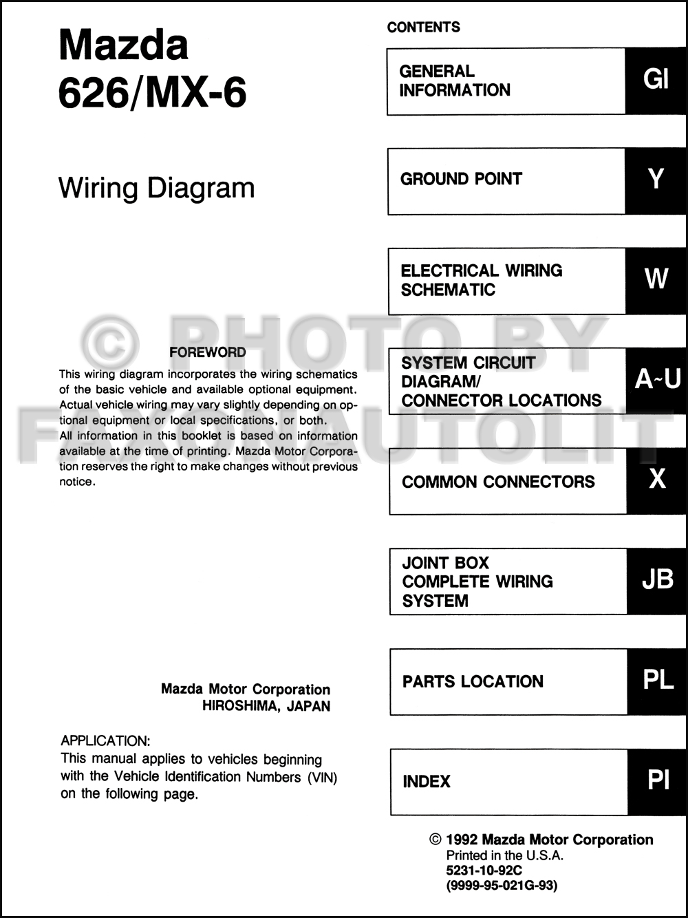 2005 Mazda Tribute Wiring Diagram Diagrams 4wd 2003 Radio Diy 2001 Nilza Net