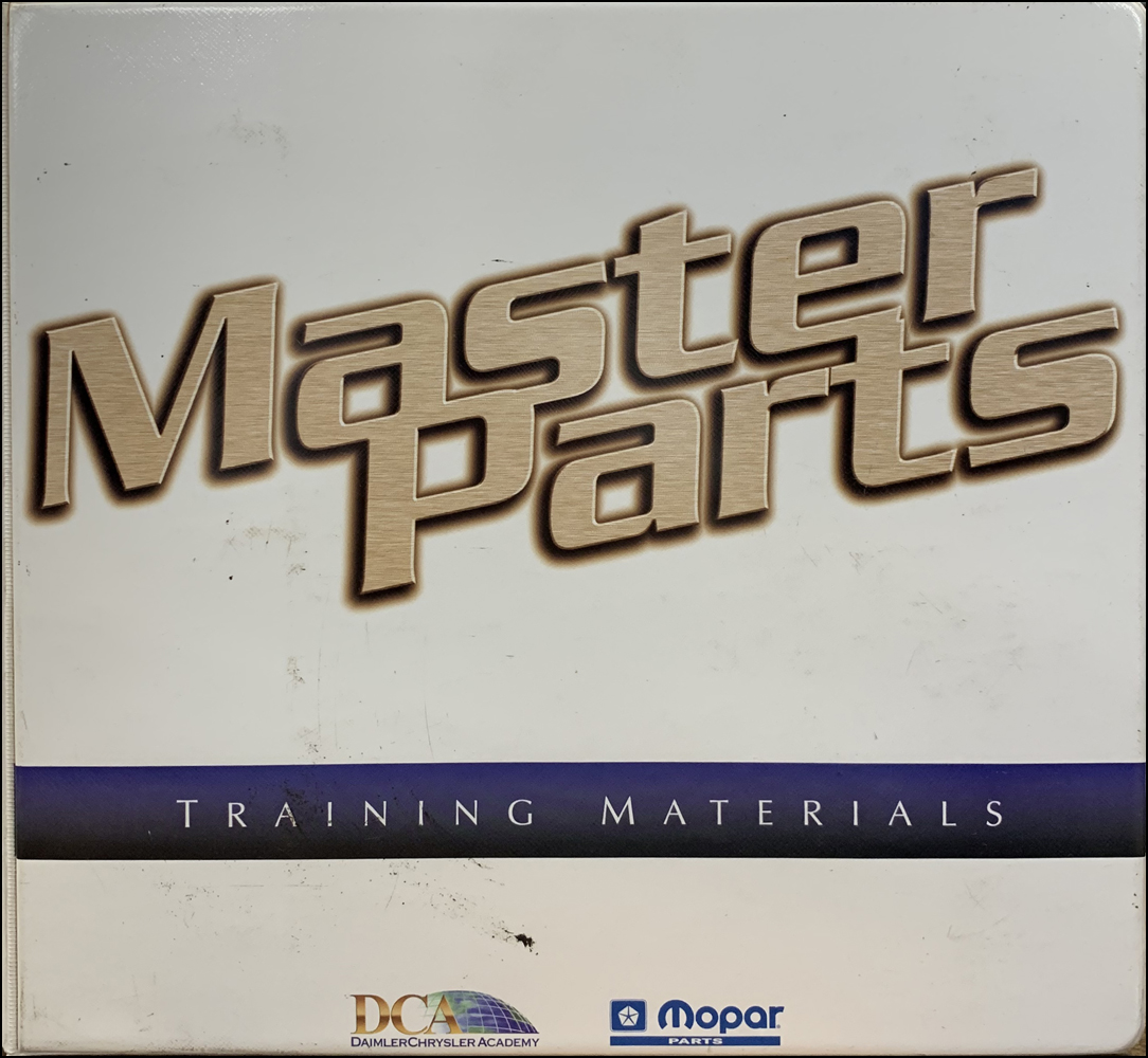 1994-1999 MoPar Master Parts Training Album Original