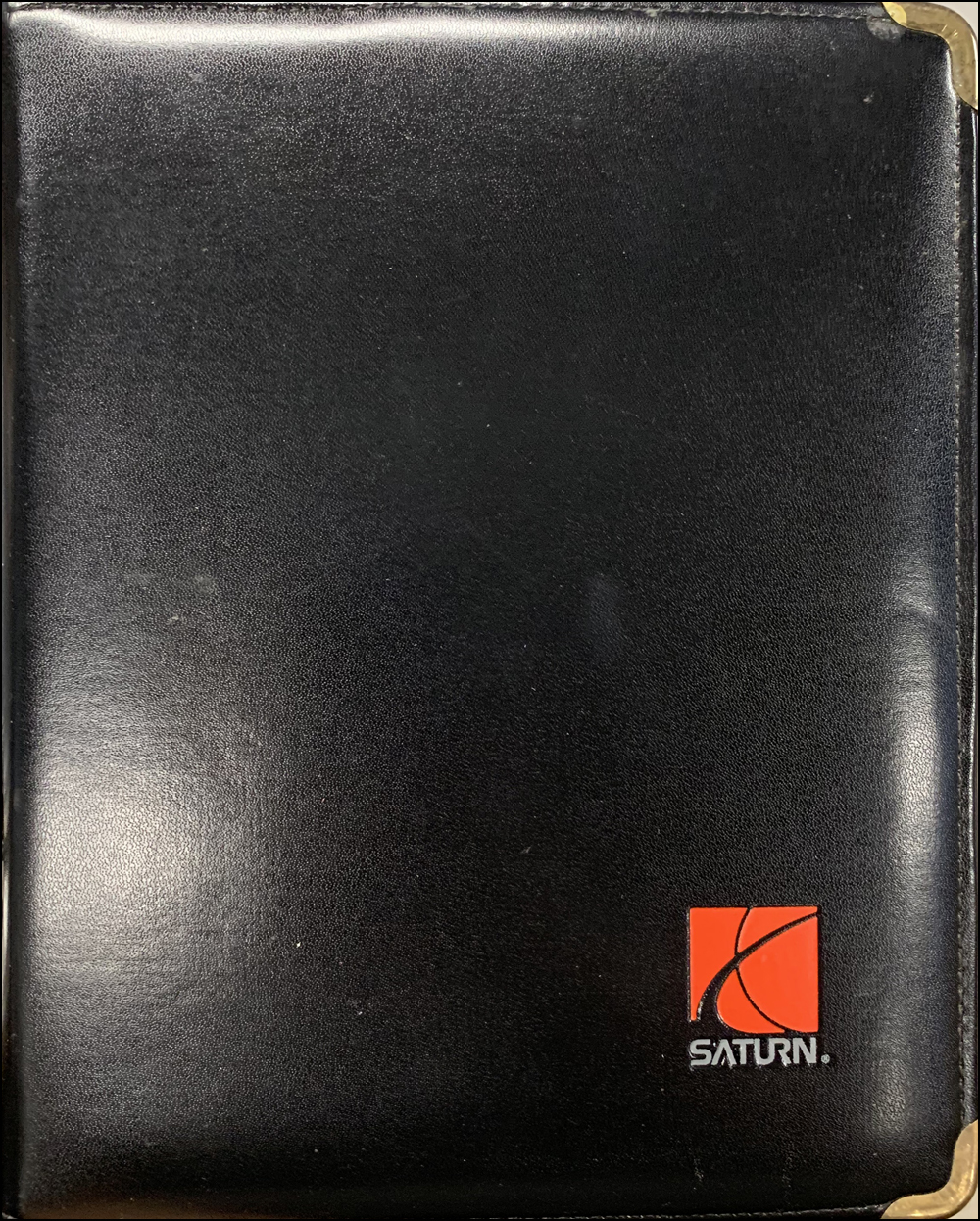 1995 Saturn Salesperson Planner Original