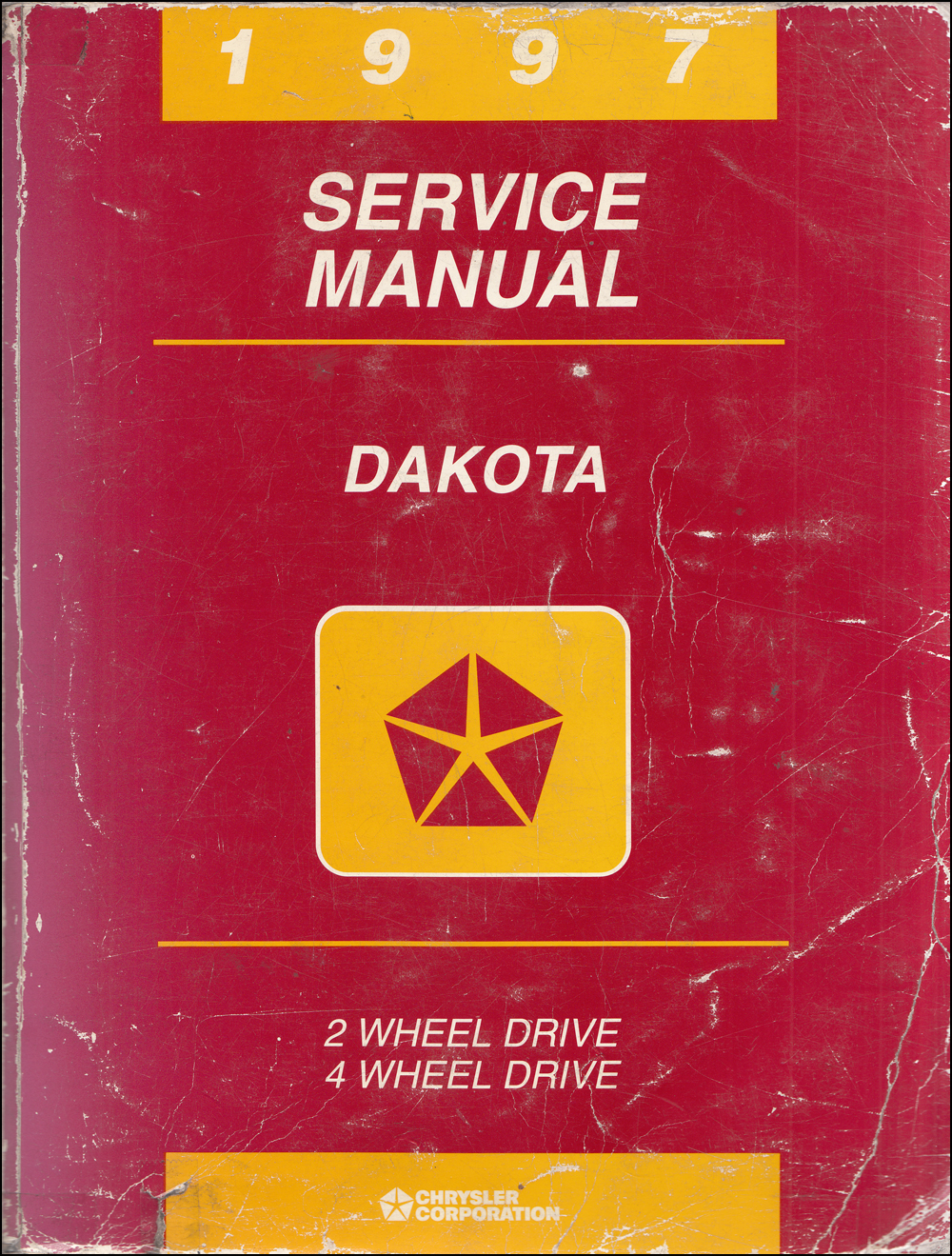1997 Dodge Dakota Repair Manual Original