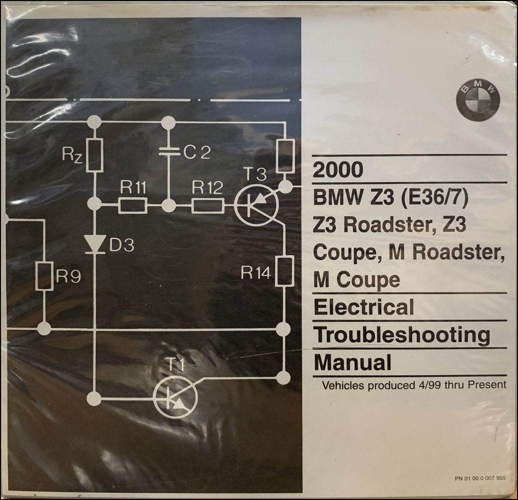 2000 bmw z3 and m roadster/coupe electrical troubleshooting manual