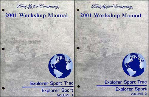 2001 Ford Explorer Sport Trac And Repair Shop Manual Setrhfaxonautoliterature: 2001 Ford Explorer Sport Trac Electrical Schematic At Gmaili.net