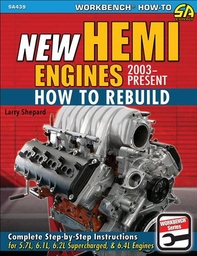2003-2019 How to Rebuild New Hemi Engines
