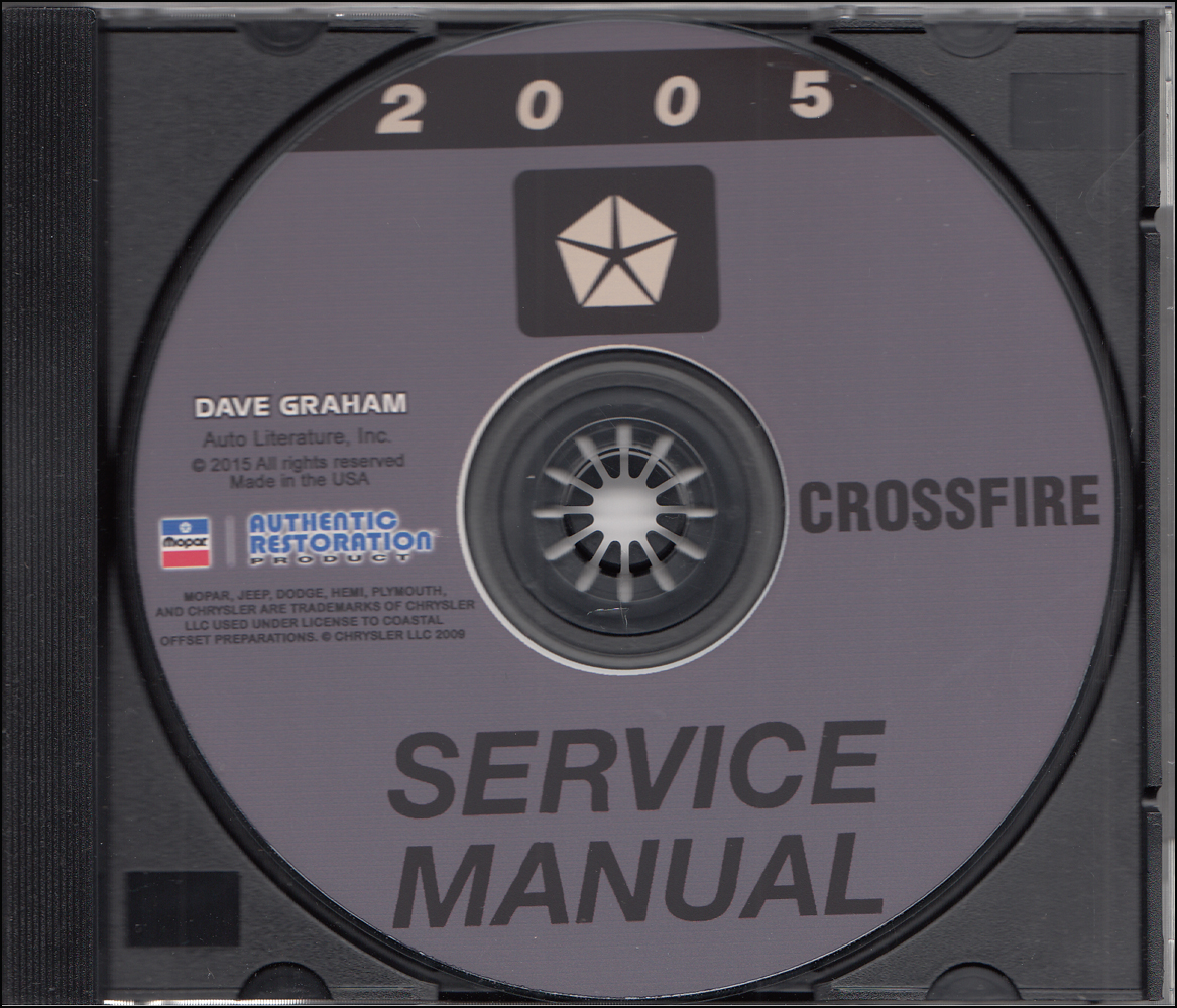 2005 Chrysler Shop Manual on CD-ROM
