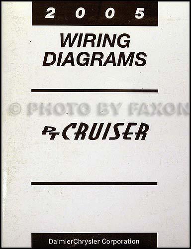 2005 chrysler pt cruiser wiring diagram manual original