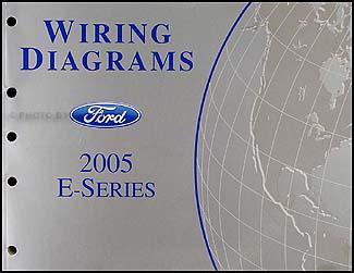 2005 ford econoline van \u0026 club wagon wiring diagram manual original Ford E150 Wiring Diagram