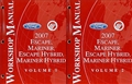 2007 Escape, Mariner, & Hybrid Repair Manual Original Set