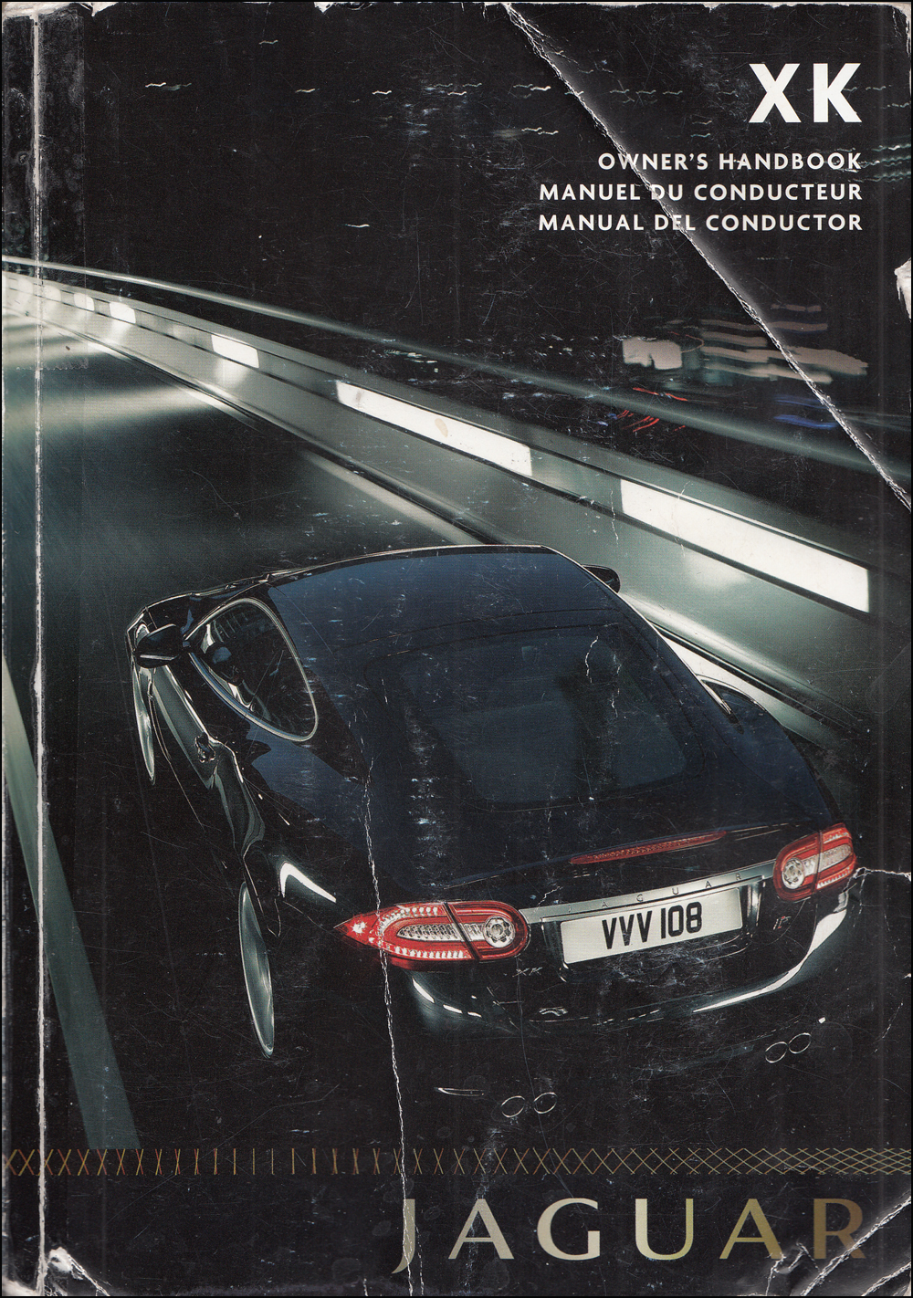 2009 Jaguar XK Owner's Manual Original