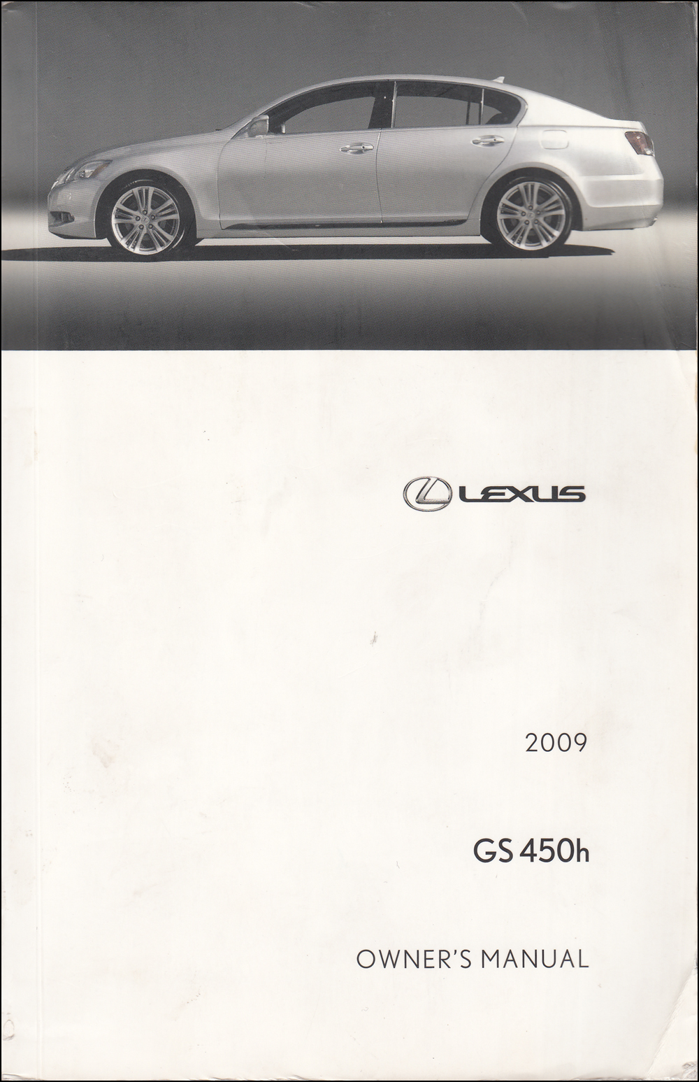 2009 Lexus GS 450h Owners Manual Original