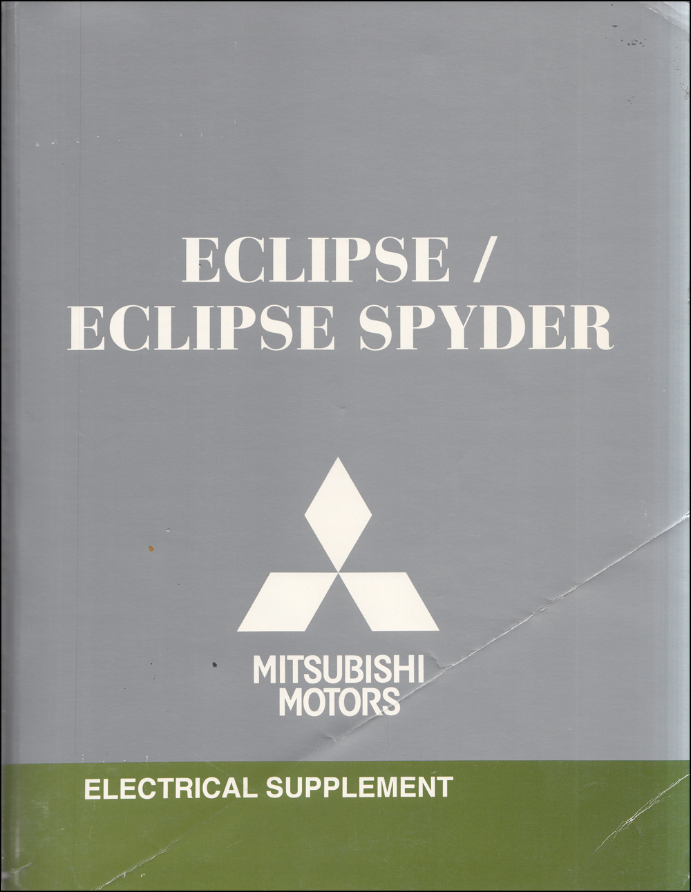 2009 Mitsubishi Eclipse & Spyder Wiring Diagram Manual Original