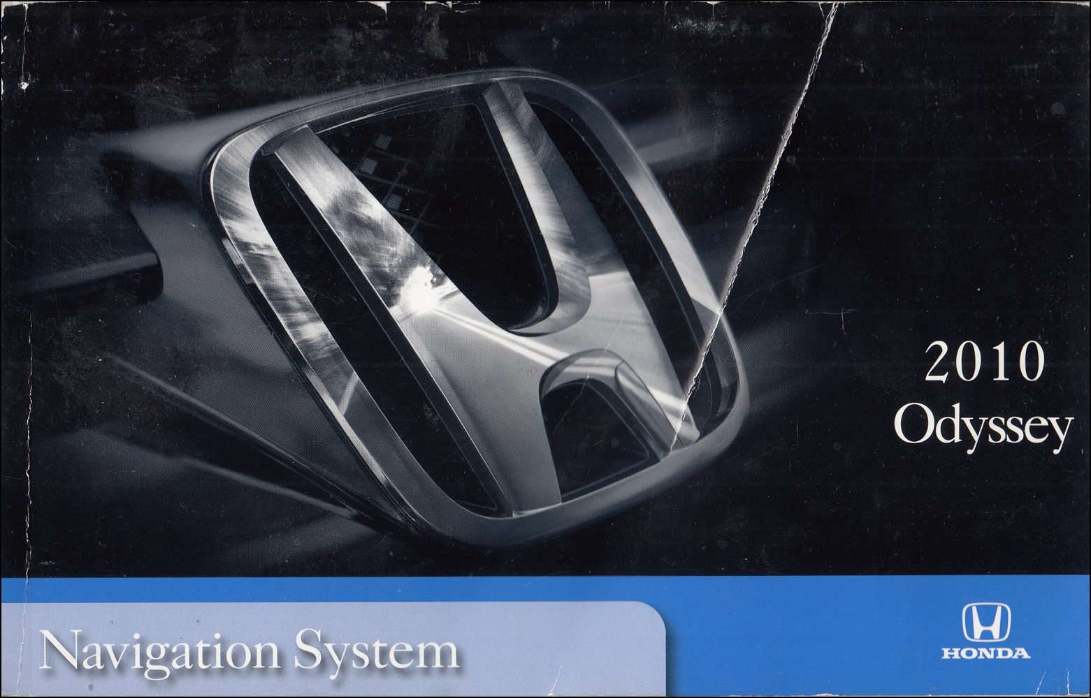 2010 Honda Odyssey Navigation System Owners Manual Original