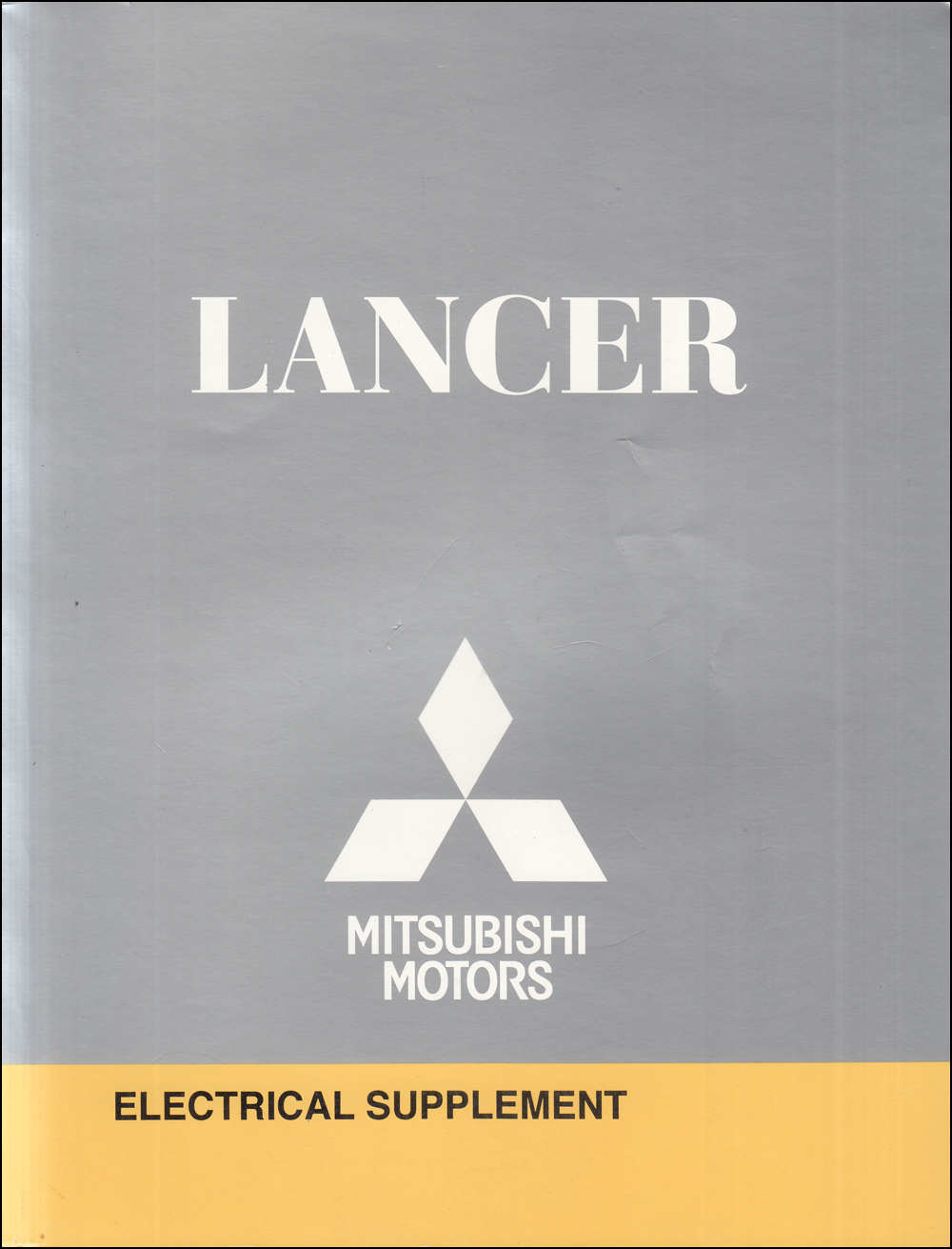 2010 Mitsubishi Lancer Wiring Diagram Manual Original