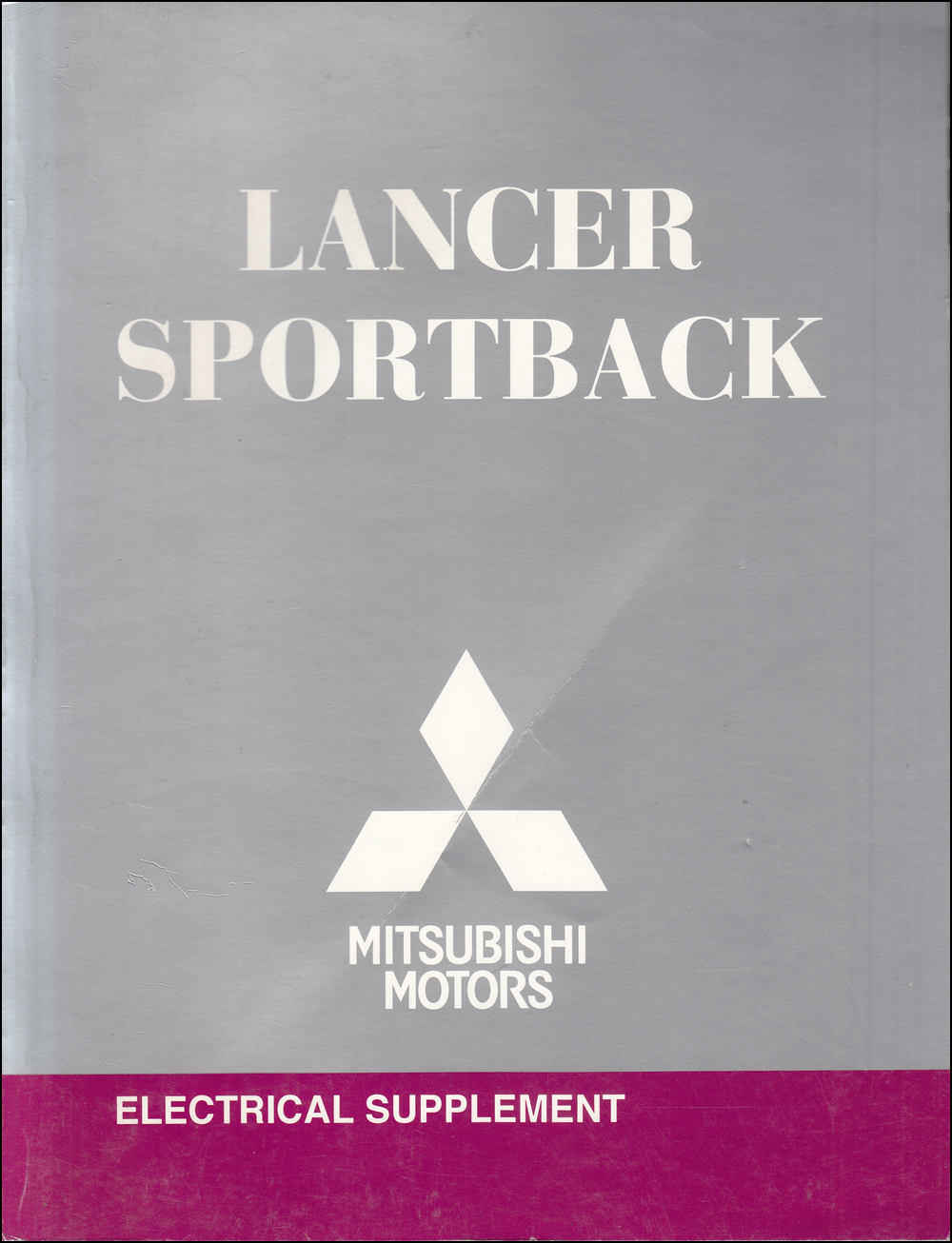 2010 Mitsubishi Lancer Sportback Electrical Wiring Diagram Manual Original