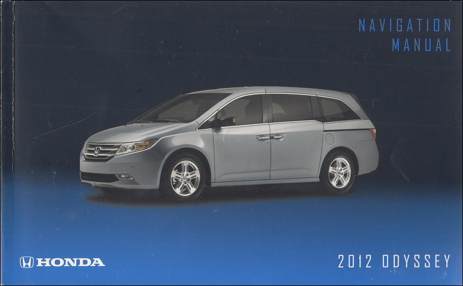 2012 Honda Odyssey Navigation System Owners Manual Original